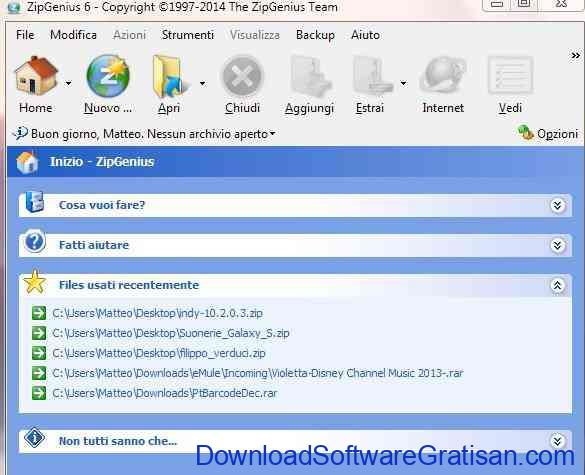 Aplikasi Kompres Folder dan File Gratis Terbaik ZIP Genius