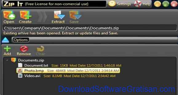 Aplikasi Kompres Folder dan File Gratis Terbaik Zip It