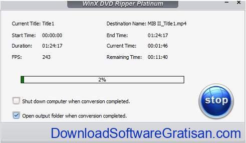 Aplikasi Konversi DVD ke MP4 & ISO WinX DVD Ripper Platinum - RIP 2
