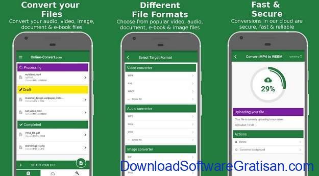 Aplikasi Konversi File Android Terbaik - File Converter