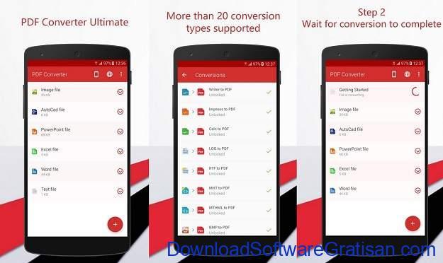 Aplikasi Konversi File Android Terbaik - PDF Converter