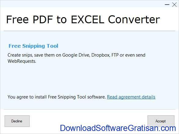 Aplikasi Konversi PDF ke Excel Offline Gratis Full Version SS4