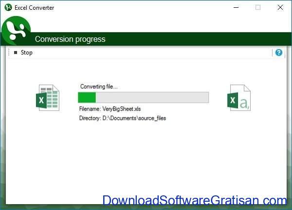 Aplikasi Konversi XLS (EXCEL) ke CSV Gratis: Excel Converter