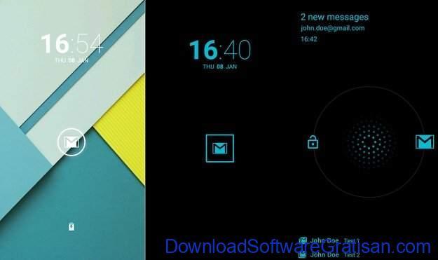 Aplikasi Kunci Layar Gratis Terbaik untuk Android DynamicNotifications