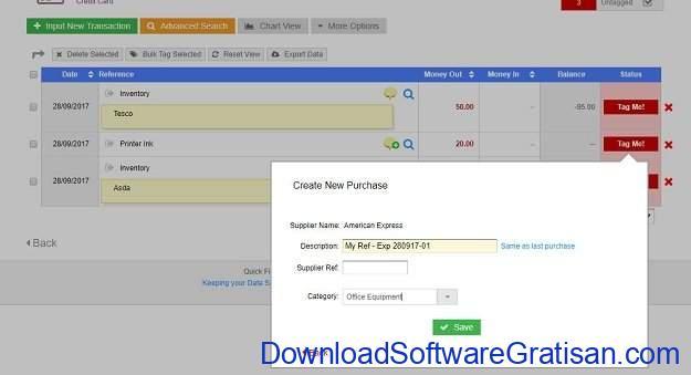 Aplikasi Laporan Keuangan PerusahaanGratis QuickFile