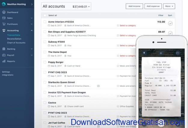 Aplikasi Laporan Keuangan PerusahaanGratis Wave