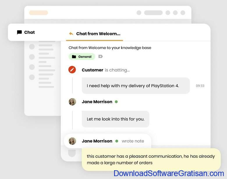 Aplikasi Live Chat untuk Website - LiveAgent