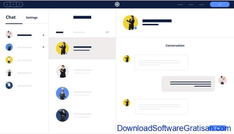 Aplikasi Live Chat untuk Website - Sendinblue