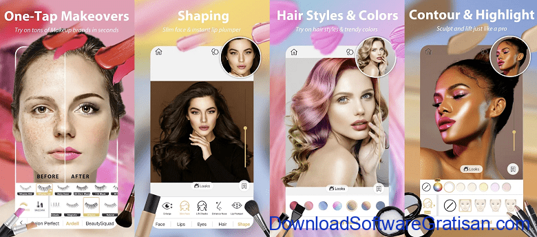 Aplikasi Makeup Edit Foto Wajah Android & iOS Terbaik Perfect365