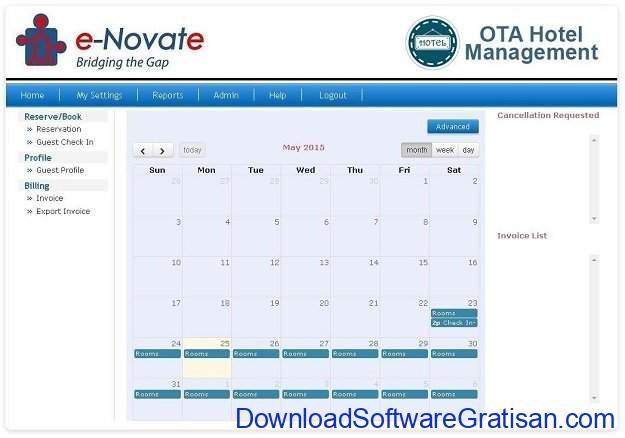 Aplikasi Manajemen Hotel Gratis Terbaik OTA Hotel Management