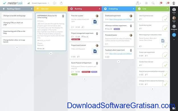 Aplikasi Manajemen Proyek Gratis Terbaik MeisterTask