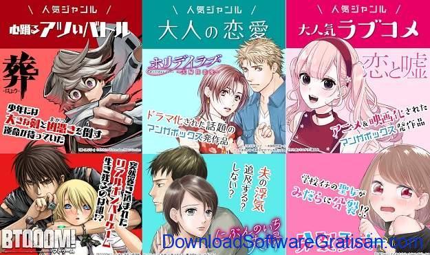 Aplikasi Manga Terbaik - Manga Box
