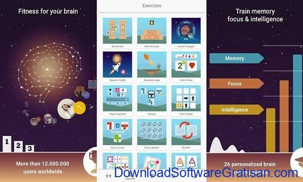 Aplikasi Melatih NeuroNation