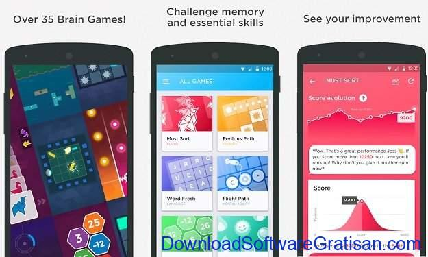 Aplikasi Melatih Otak Peak