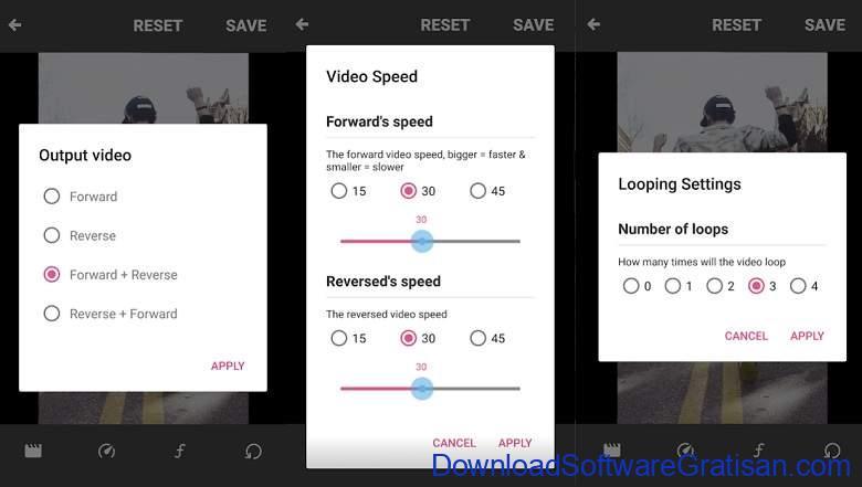 Aplikasi Membalikkan Video Reverse Gratis Terbaik Android Boomerate Video reverse & loop