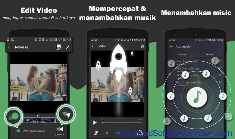 Aplikasi Membalikkan Video Reverse Gratis Terbaik Android Reverse Video Backwards