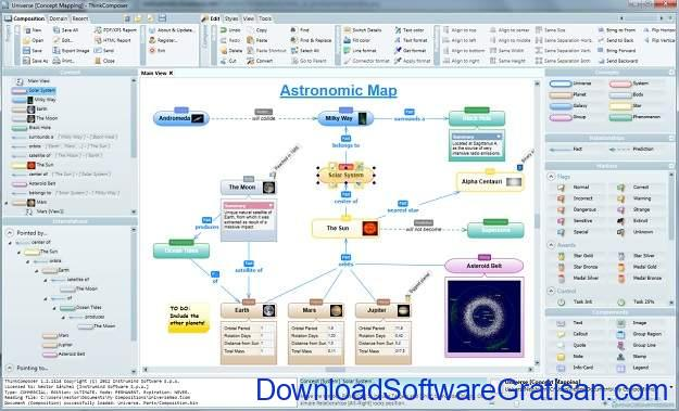 Aplikasi Membuat Flowchart DFD & ERD di Microsoft Windows Selain Visio ThinkComposer