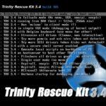 Aplikasi Mencari Kata Sandi Terbaik Windows - Trinity Rescue Kit