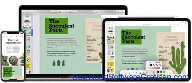 Aplikasi Menulis Terbaik untuk Mac - Apple Pages