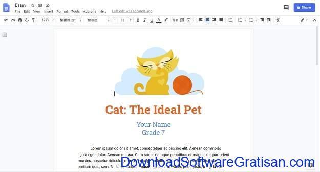 Aplikasi Menulis Terbaik untuk Mac - Google Docs