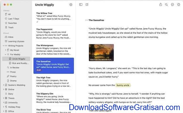 Aplikasi Menulis Terbaik untuk Mac - Ulysses