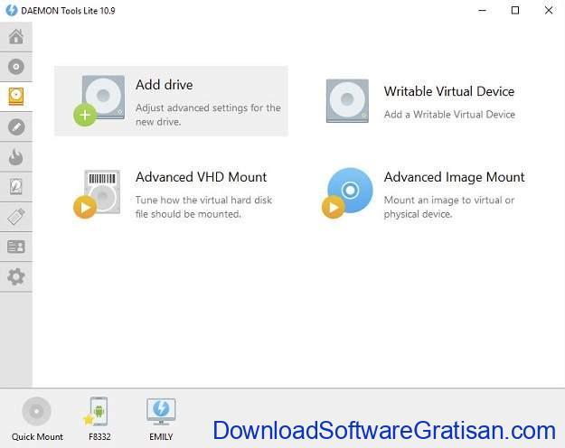 Aplikasi Mount ISO Terbaik untuk Membuat Drive CD DVD Virtual - DAEMON Tools Lite