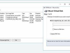 Aplikasi Mount ISO Terbaik untuk Membuat Drive CD DVD Virtual - OSFMount