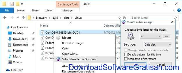 Aplikasi Mount ISO Terbaik untuk Membuat Drive CD DVD Virtual - WinCDEmu Free Iso Mounter