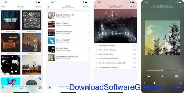Aplikasi Musik Terbaik untuk Pengguna iPhone - Ecoute