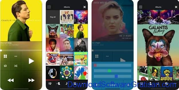 Aplikasi Musik Terbaik untuk Pengguna iPhone - Stezza Music Player
