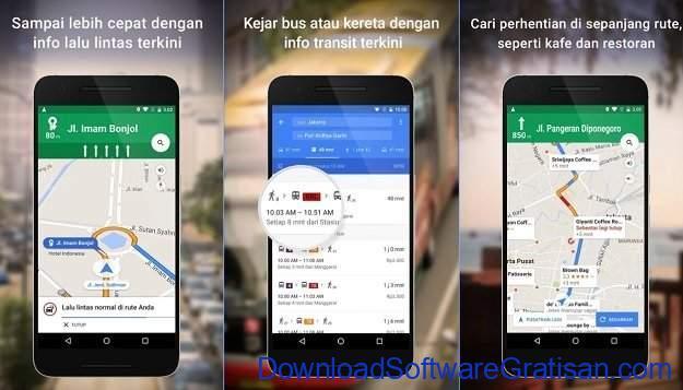 Aplikasi Navigasi Peta GPS Android Gratis Terbaik Google Maps