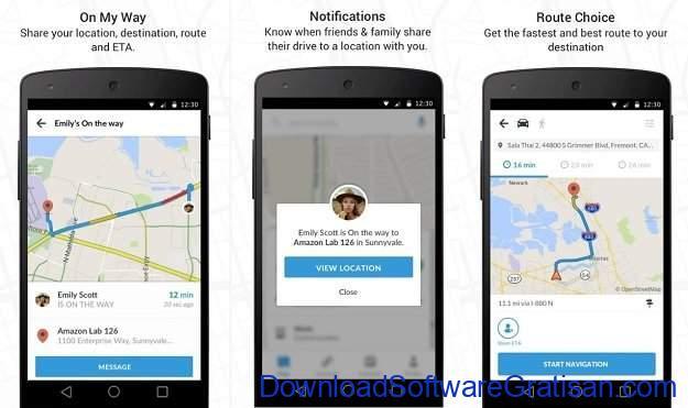 Aplikasi Navigasi Peta GPS Android Gratis Terbaik Scout GPS