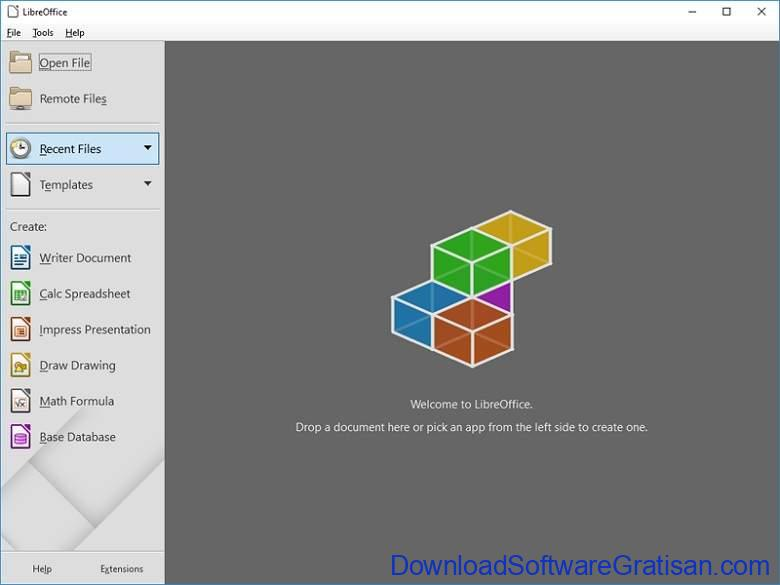 Aplikasi Office Portabel Gratis Terbaik - LibreOffice Portable Fresh