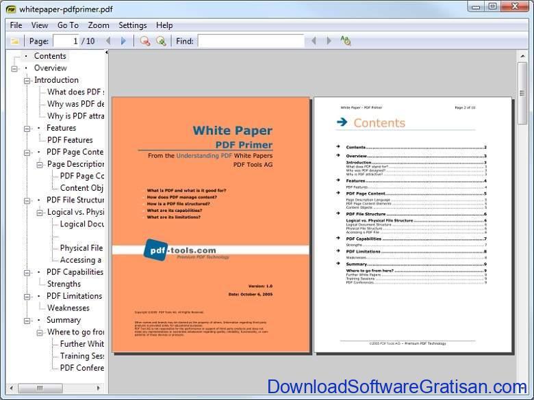 Aplikasi Office Portabel Gratis Terbaik - Sumatra PDF Portable
