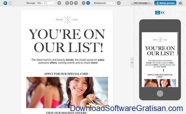 Aplikasi Online untuk Blast Email GetResponse