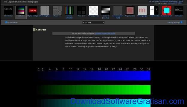Aplikasi Online untuk Kalibrasi Warna Monitor The Lagom LCD Monitor Test Pages