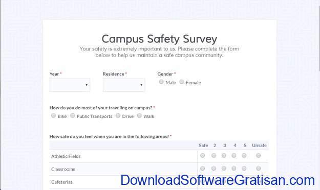 Aplikasi Online untuk Membuat Survey Formsite