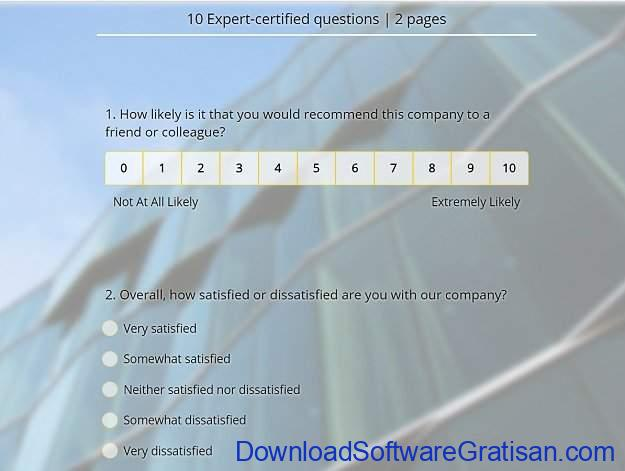 Aplikasi Online untuk Membuat Survey Survey Legend