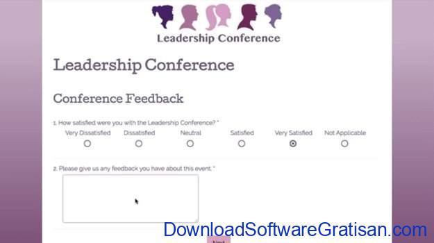 Aplikasi Online untuk Membuat Survey SurveyGizmo
