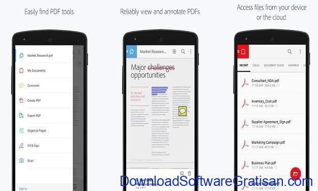 Aplikasi PDF Android Ringan Gratis Terbaik Adobe Acrobat Reader