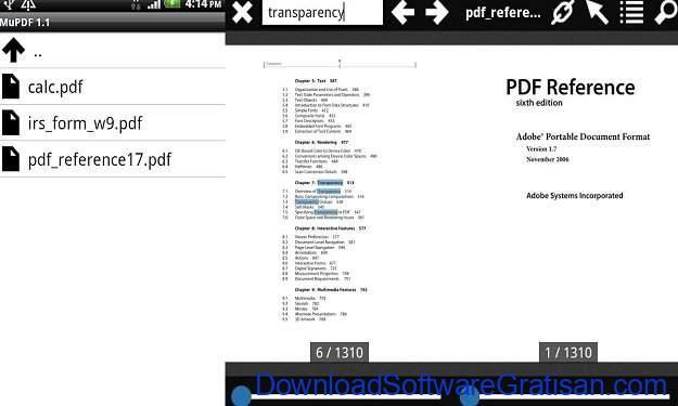 Aplikasi PDF Android Ringan Gratis Terbaik MuPDF