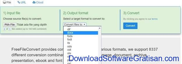 Aplikasi PDF to Word Converter Gratis Terbaik Free File Converter