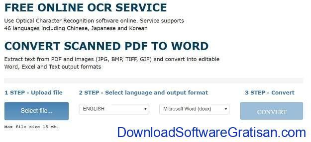 Aplikasi PDF to Word Converter Gratis Terbaik Free Online OCR