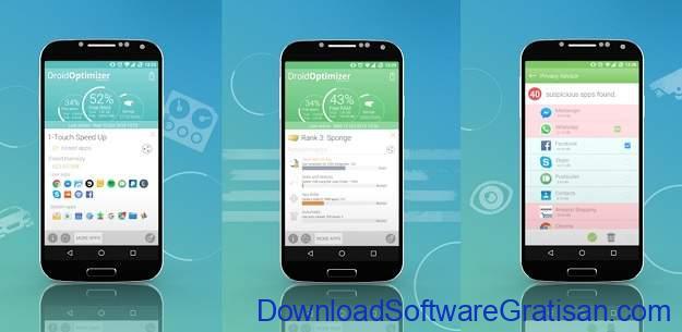 Aplikasi Pembersih Gratis Terbaik Android Droid Optimizer