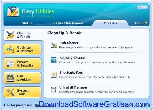 Aplikasi Pembersih Sampah PC Terbaik Glary Utilities PRO