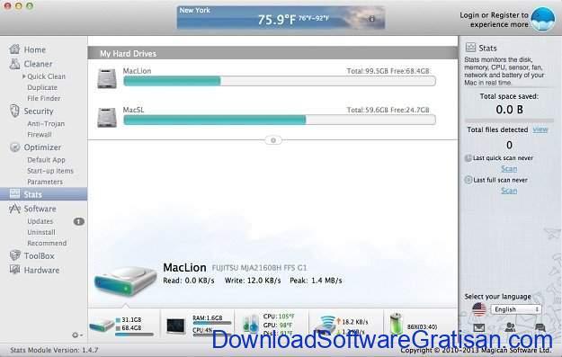 Aplikasi Pembersih Sistem Gratis untuk Mac Magican