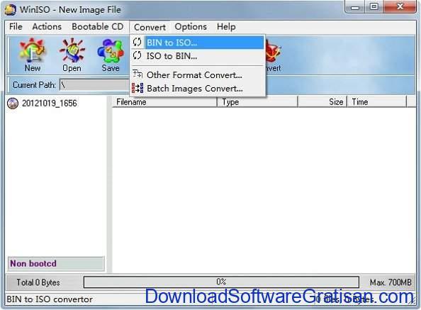 Aplikasi Pembuat ISO Gratis Terbaik Free WinISO Maker
