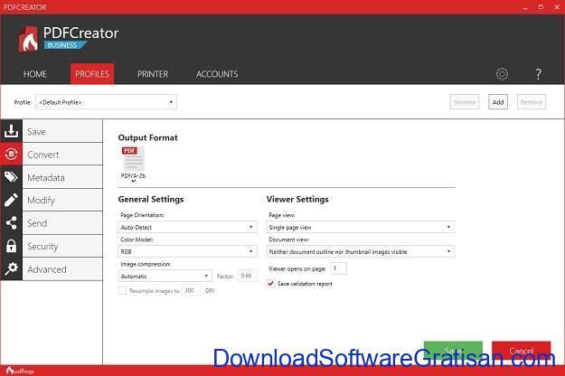 Aplikasi Pembuat PDF Gratis Terbaik PDFCreator