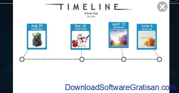 Aplikasi Pembuat Timeline ReadWriteThink Student Interactive Timeline