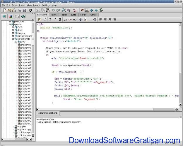 Aplikasi-Pembuat-Website-Alternatif-Adobe-Dreamweaver-Quanta-Plus-SS